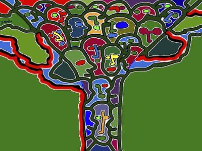 Family Tree-Diana Ong-Giclee Print