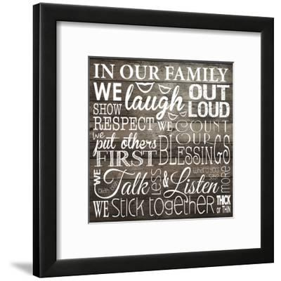 Family-Melody Hogan-Framed Art Print
