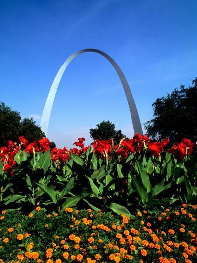 Famous St. Louis Arch, Archway Park, St. Louis, Missouri-Bill Bachmann-Photographic Print