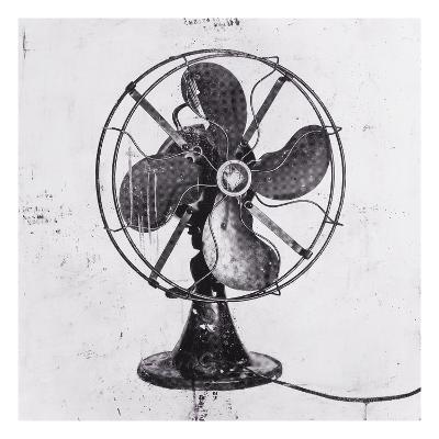 Fan Black 1-JB Hall-Premium Giclee Print