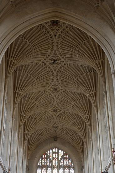 Fan Vaulting in the Abbey Church (1499) Bath (Unesco World Heritage List--Photographic Print