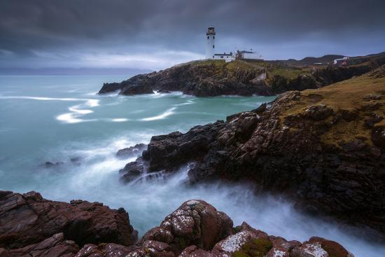Fanad Head Lighthouse, County Donegal,  Ireland-ClickAlps-Photographic Print