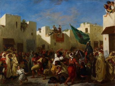 Fanatics of Tangier, C.1837-38-Eugene Delacroix-Giclee Print