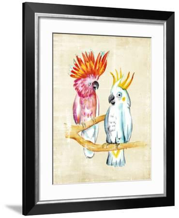 Fanciful Birds IV-Chariklia Zarris-Framed Art Print