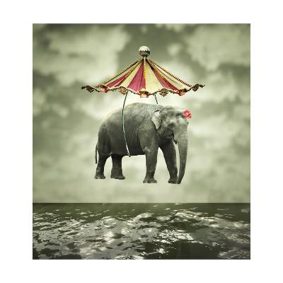Fanciful Elephant-ValentinaPhotos-Art Print