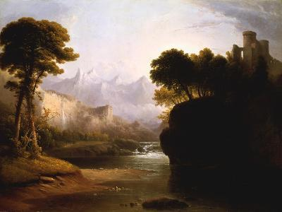 Fanciful Landscape, 1834-Thomas Doughty-Giclee Print