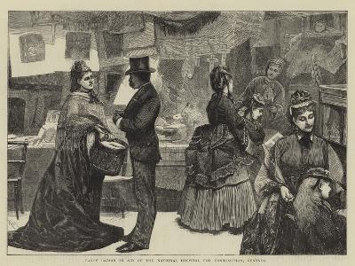 Fancy Bazaar in Aid of the National Hospital for Consumption, Ventnor-Robert Walker Macbeth-Giclee Print