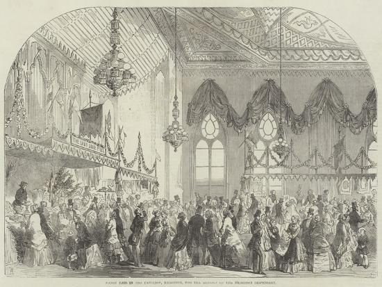 Fancy Fair in the Pavilion, Brighton, for the Benefit of the Brighton Dispensary-Frank Watkins-Giclee Print