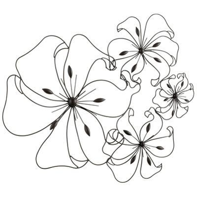 Fancy Flower Wall Art