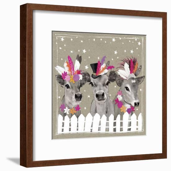 Fancy Pants Farm VII-Hammond Gower-Framed Art Print