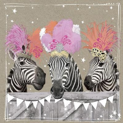 Fancy Pants Zoo II-Hammond Gower-Art Print