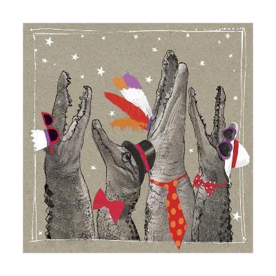 Fancy Pants Zoo VI-Hammond Gower-Art Print