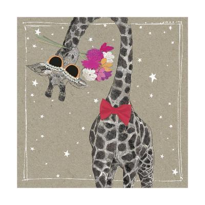 Fancy Pants Zoo VIII-Hammond Gower-Art Print