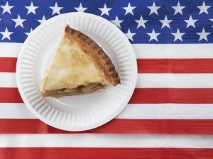 Patriotic apple pie by Fancy
