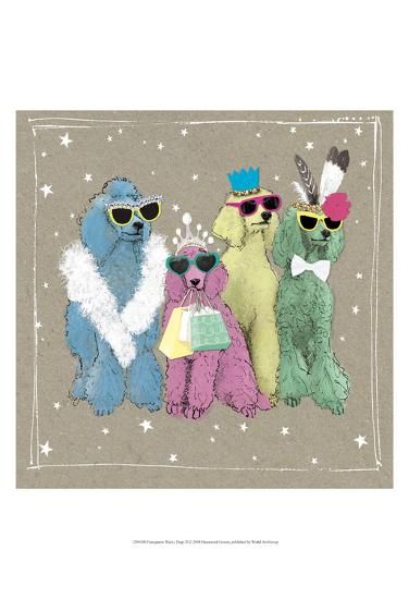 Fancypants Wacky Dogs II-Hammond Gower-Art Print