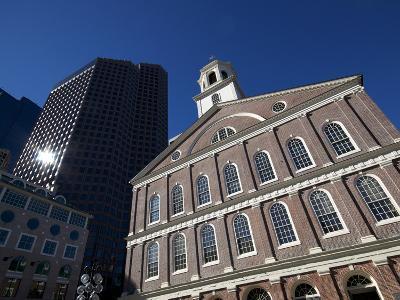 Faneuil Hall, Boston, Massachusetts, New England, USA--Photographic Print