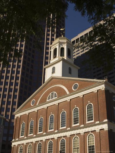 Faneuil Hall, Boston, Massachusetts, USA-Amanda Hall-Photographic Print