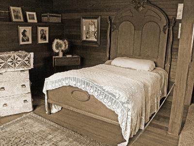 Fanny's Bedroom, Villa Vailima, Apia, Samoa--Photographic Print