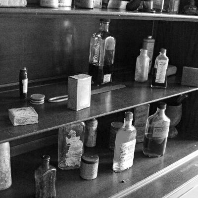 Fanny's Medicine Cabinet, Villa Vailima, Apia, Samoa--Photographic Print