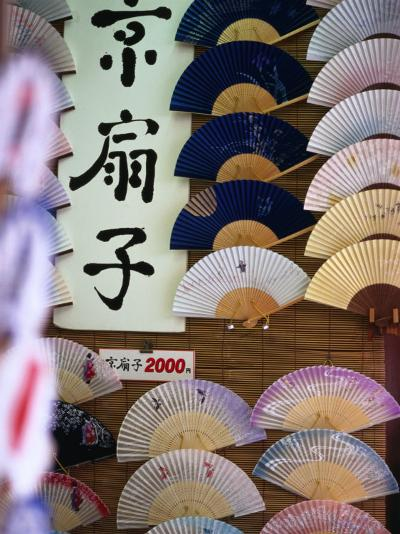 Fans for Sale, Kyoto, Kinki, Japan-Christopher Groenhout-Photographic Print