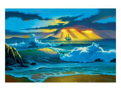 Fanta-Sea-Jim Warren-Premium Giclee Print