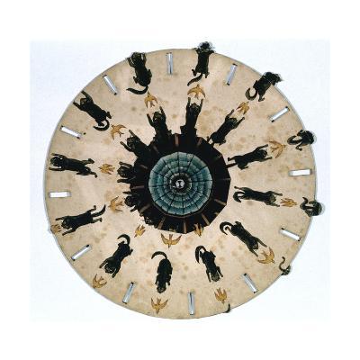 Fantascope Disc, 1833-Thomas Mann Baynes-Giclee Print