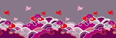 Fantastic Flight Violet--Giclee Print