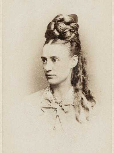 Fantastic Hairdo - Late 19th Century--Photographic Print