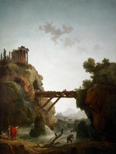 Fantastic View of Tivoli, 1789-Hubert Robert-Giclee Print