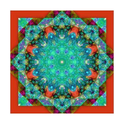 Fantastic World Mandala VI-Alaya Gadeh-Art Print