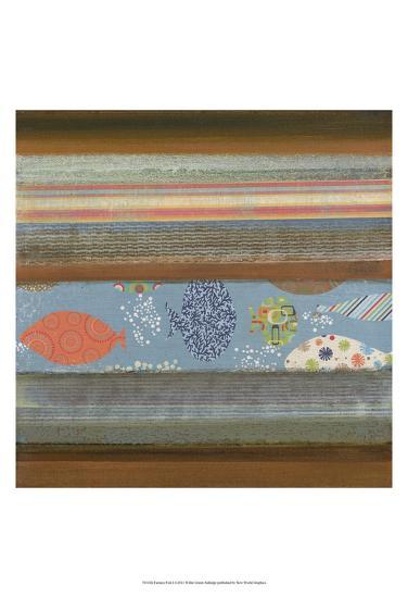 Fantasy Fish I-W^ Green-Aldridge-Art Print