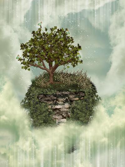 Fantasy Landscape-justdd-Art Print