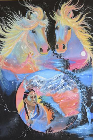 Fantasy Reality-Sue Clyne-Giclee Print
