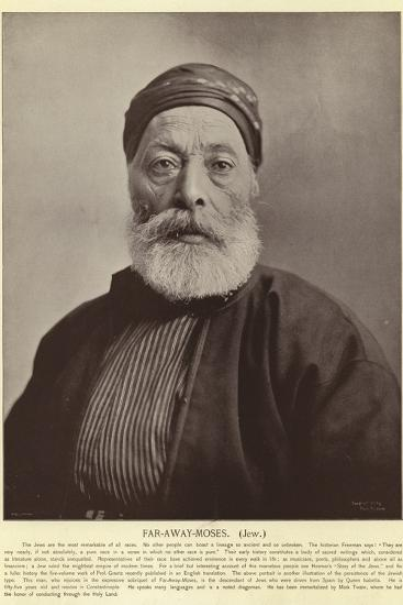 Far-Away-Moses, Jew--Photographic Print