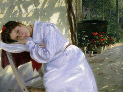 Far Away Thoughts, 1905-Karl Pippich-Giclee Print
