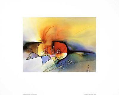 Farb & Formenspiel III-Frauke Ahrens-Art Print