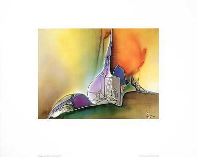 Farb & Formenspiel IV-Frauke Ahrens-Art Print