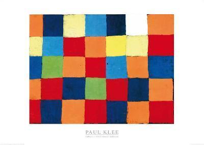 Farbtafel, c.1930-Paul Klee-Art Print