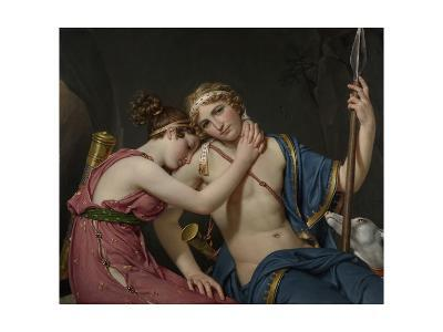 Farewell of Telemachus and Eucharis, 1818-Jacques-Louis David-Giclee Print
