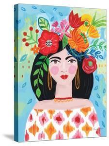 Boho Girl II by Farida Zaman