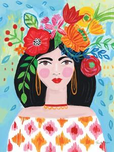Boho Girl II by Farida Zaman