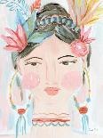 Boho Lady II-Farida Zaman-Art Print