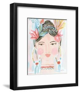 Boho Lady II by Farida Zaman