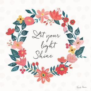 Bright Petals IV by Farida Zaman
