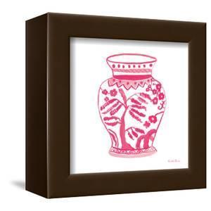 Chinoiserie IV Pink by Farida Zaman