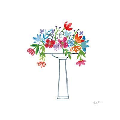 Floral Bathroom II
