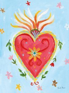 Fridas Heart I by Farida Zaman