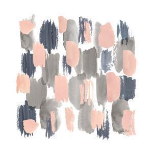 Grey Pink Mist I by Farida Zaman