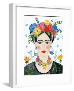 Homage to Frida II Bright by Farida Zaman