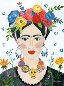 Homage to Frida II Bright by Farida Zaman